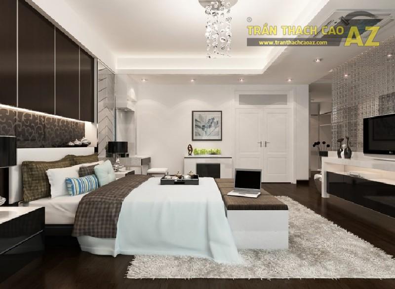 Mê mẩn trước 10 mẫu trần thạch cao phòng ngủ đẹp hút hồn