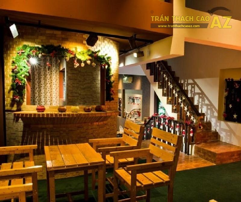 Phát cuồng với 10 mẫu trần thạch cao quán cafe siêu đẹp, siêu ấn tượng