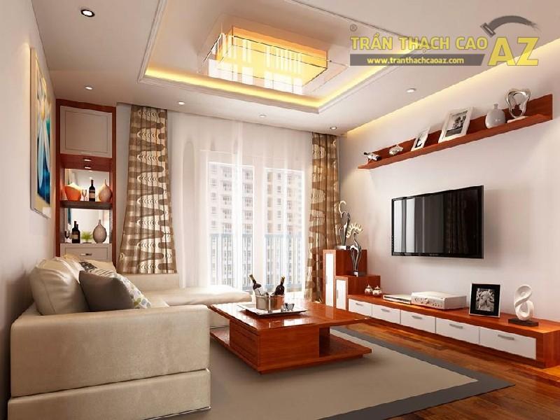 Làm trần thạch cao cho nhà chung cư là một ý tưởng tuyệt vời