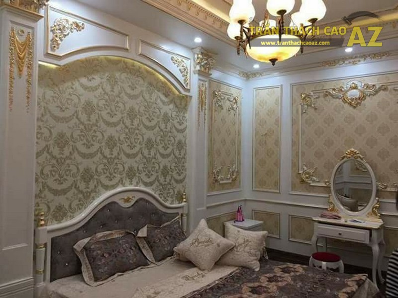 Trần thạch cao biệt thự cho nhà anh Dũng tại Hưng Hòa, Hòa Mạc, Phủ Lý