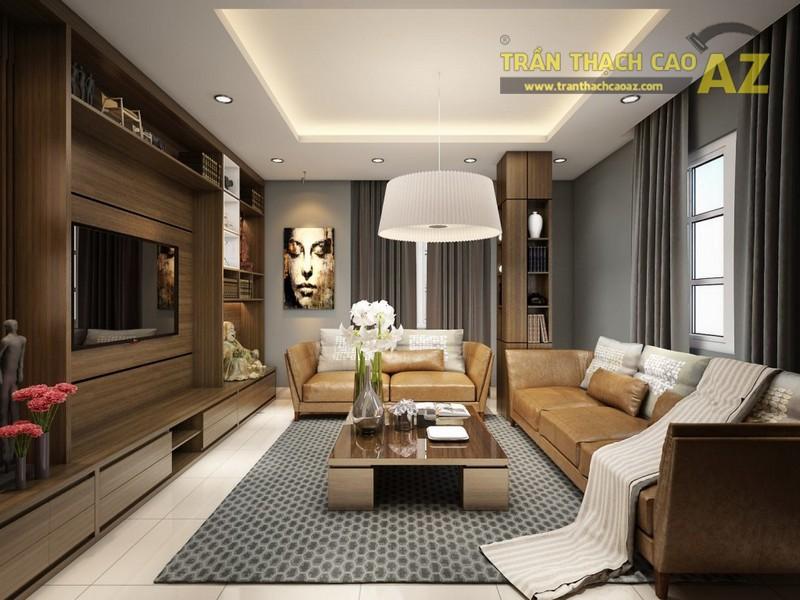 Cách chọn mẫu trần thạch cao cho nhà nhỏ