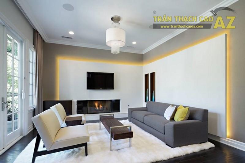 Cập nhật mẫu trần thạch cao cho phòng khách mới nhất 2017