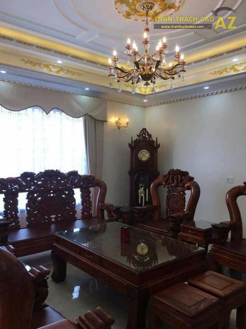 Trần thạch cao cho nhà chú Thọ phường Liêm Chung, Phủ Lý, Hà Nam