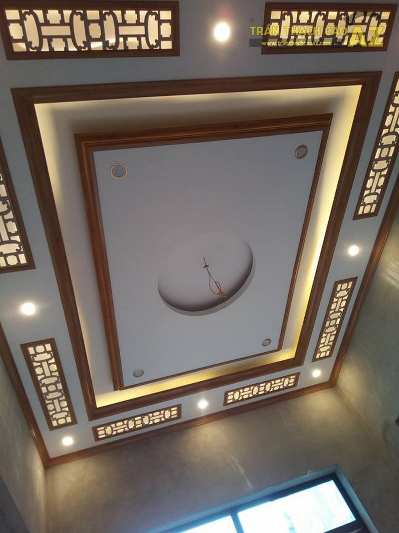 Hoàn thiện thi công trần thạch cao cho nhà anh Xuân tại Liêm Thuận, Thanh Liêm, Hà Nam