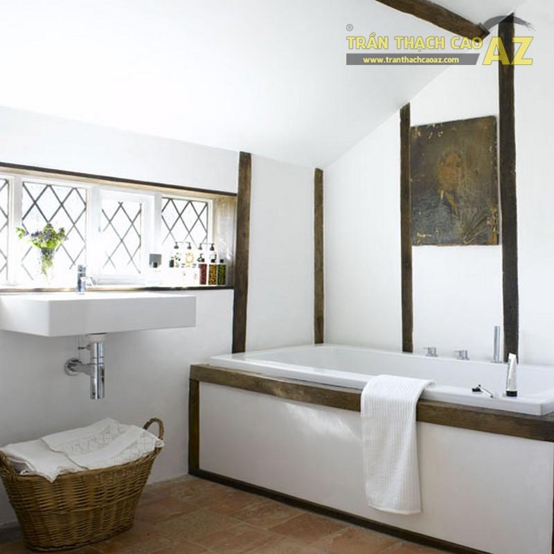 Xu hướng 2017 trần thạch cao cho phòng tắm
