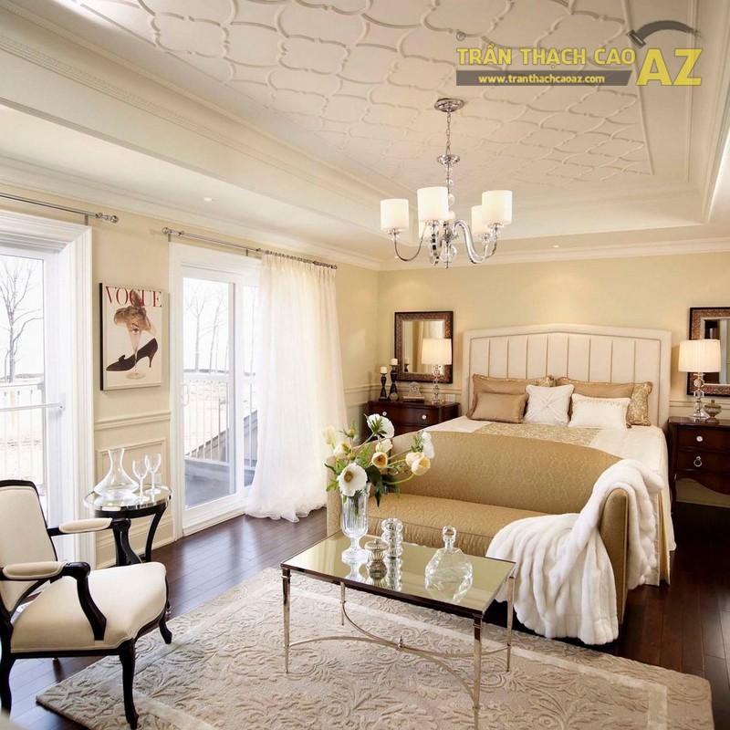 Mẫu trần thạch cao phòng khách đẹp nhất 2017 - 06