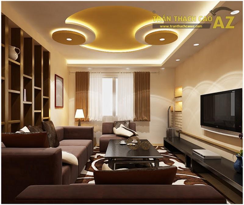 Công ty AZ cung cấp dịch vụ thi công trần thạch cao trọn gói, chất lượng cao