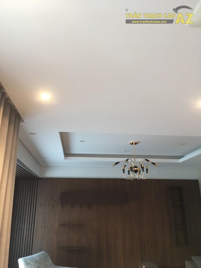 Thiết kế, thi công trần thạch cao nhà chị Hiền, KĐT Gamuda Garden, Trần Phú, Hoàng Mai - 04