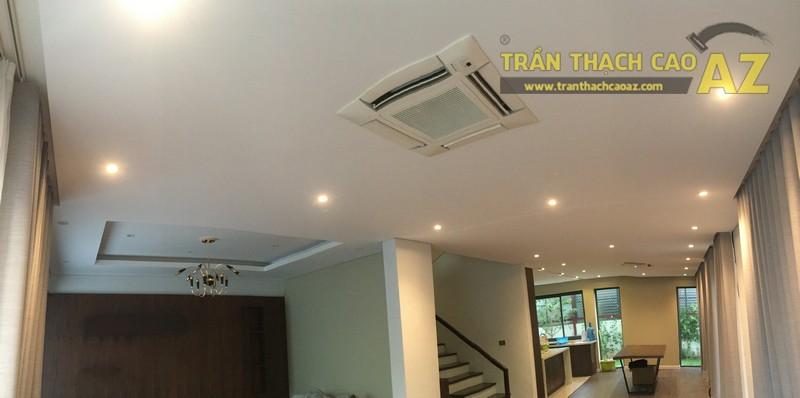Thiết kế, thi công trần thạch cao nhà chị Hiền, KĐT Gamuda Garden, Trần Phú, Hoàng Mai - 02