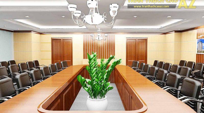 Trần thạch cao văn phòng hợp phong thủy - 02