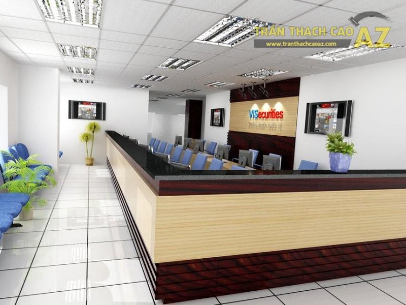 Trần phẳng - lựa chọn ưu tiên cho các văn phòng