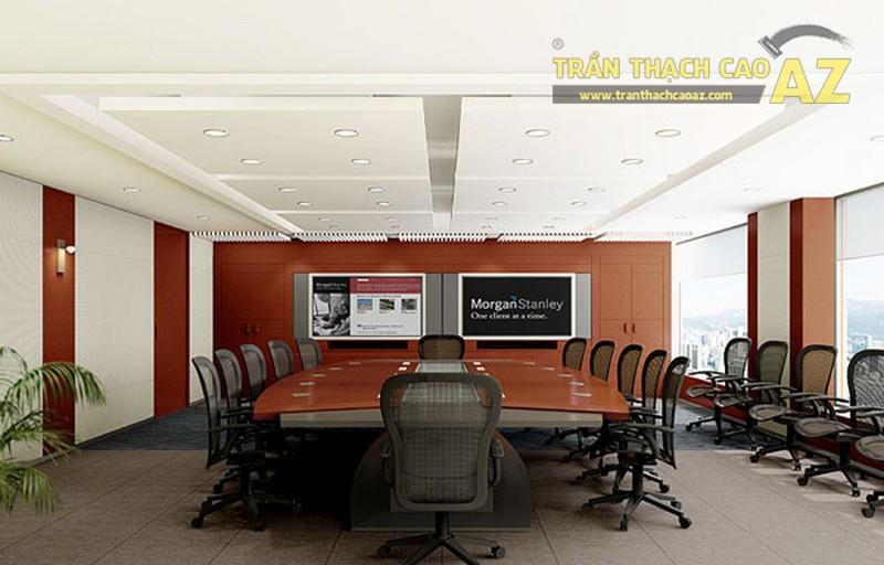 Mẫu trần thạch cao văn phòng hiện đại 2017