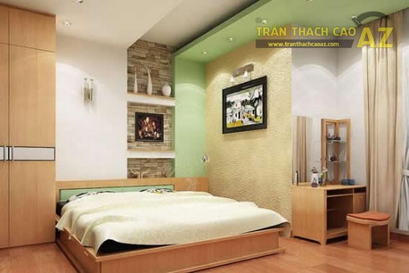 Mẫu vách thạch cao phòng ngủ đẹp nhất năm 2017