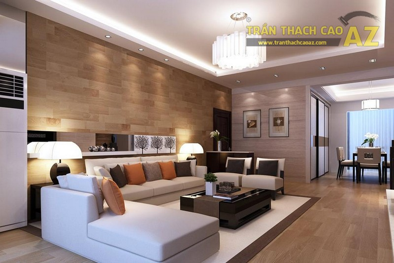 16 mẫu trần thạch cao phòng khách đẹp nhất mọi thời đại - 02