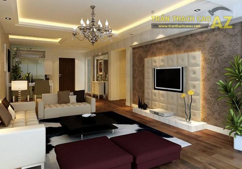 16 mẫu trần thạch cao phòng khách đẹp nhất mọi thời đại - 13