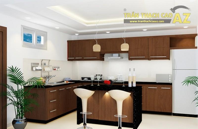 12 mẫu trần thạch cao phòng ăn sang trọng 2017 - 07