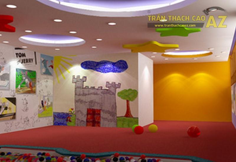 Làm tần thạch cao phòng ngủ trẻ em đẹp cần hấp dẫn và sinh động