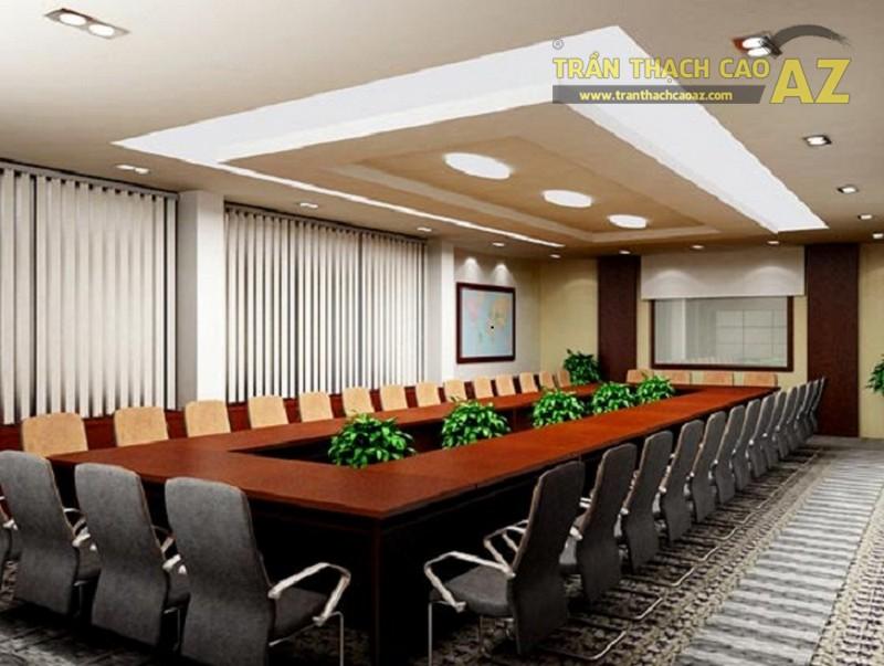 10 Mẫu trần thạch cao cho văn phòng đẹp, hiện đại