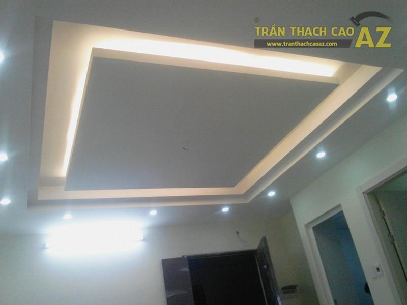 Thi công trần thạch cao tại nhà anh Thạo, Thạch Bàn, Long Biên, Hà Nội