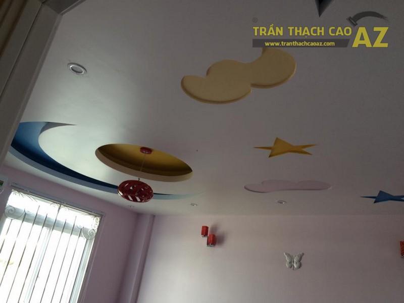 Thi công trần thạch cao nhà ống cho nhà anh Bảo, Lê Trọng Tấn, Hà Đông