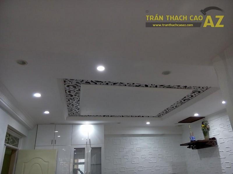 Thiết kế, thi công trần thạch cao nhà chị Thoa, KĐT Văn Phú, Hà Đông, Hà Nội