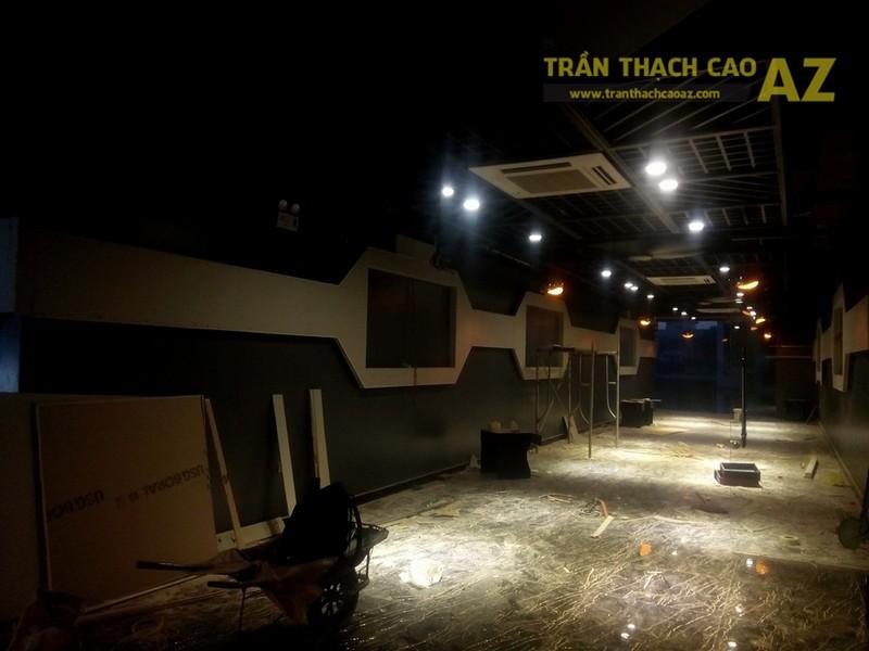 Thi công trần thạch cao cho quán Game Home, Trung Hòa, Cầu Giấy, Hà Nội