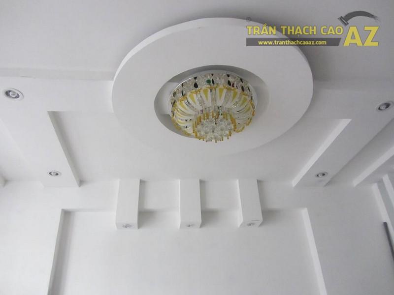 Hoàn thiện trần thạch cao cho nhà anh Đạt ở Trần Duy Hưng, Hà Nội