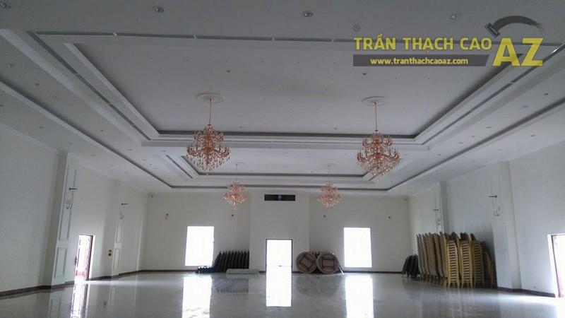 Thi công trần thạch cao cho trung tâm tiệc cưới của anh Hậu, Hà Đông, Hà Nội - 05