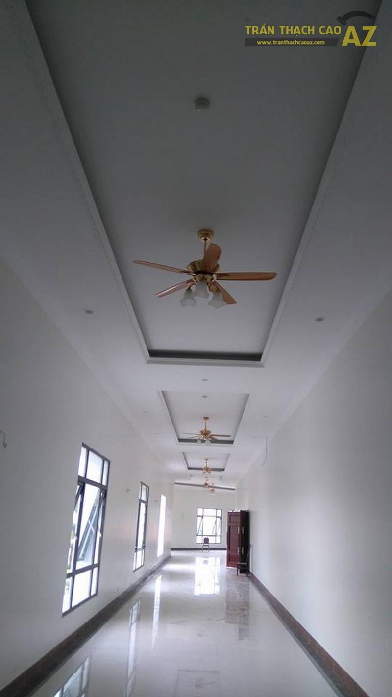 Thi công trần thạch cao cho trung tâm tiệc cưới của anh Hậu, Hà Đông, Hà Nội - 04