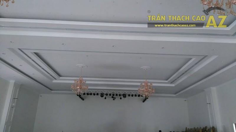 Thi công trần thạch cao cho trung tâm tiệc cưới của anh Hậu, Hà Đông, Hà Nội - 07