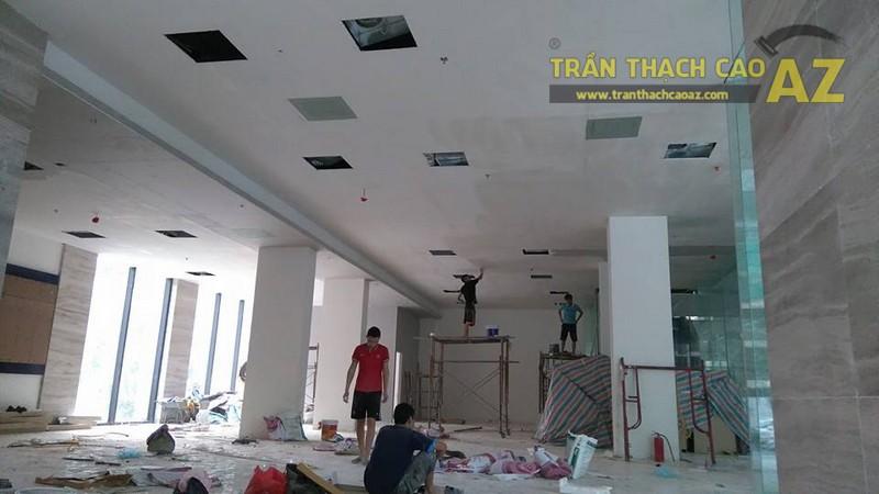 Thi công trần thạch cao văn phòng cho công ty anh Phúc, Ngõ 54 Nguyễn Chí Thanh, Đống Đa, Hà Nội -02