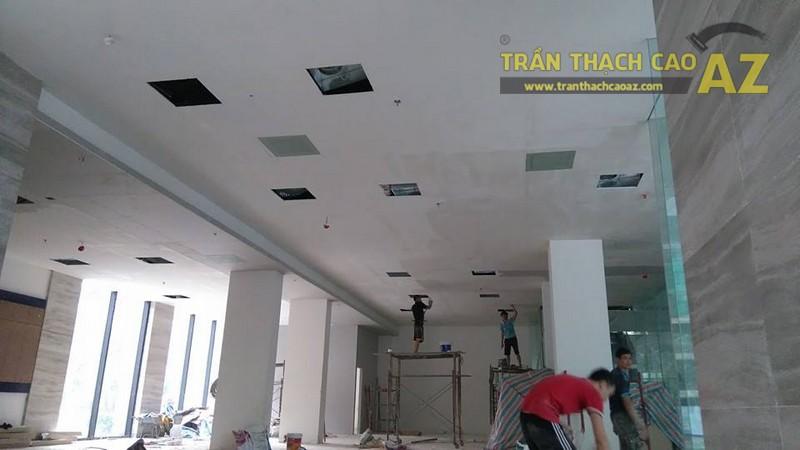 Thi công trần thạch cao văn phòng cho công ty anh Phúc, Ngõ 54 Nguyễn Chí Thanh, Đống Đa, Hà Nội -04