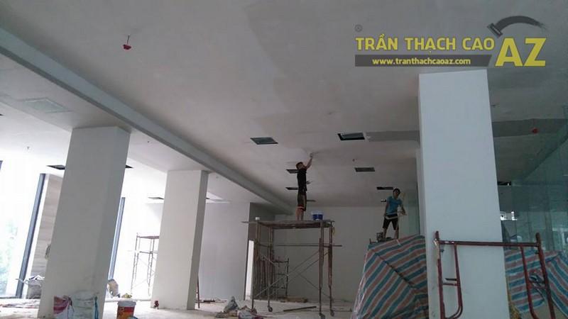 Thi công trần thạch cao văn phòng cho công ty anh Phúc, Ngõ 54 Nguyễn Chí Thanh, Đống Đa, Hà Nội -03