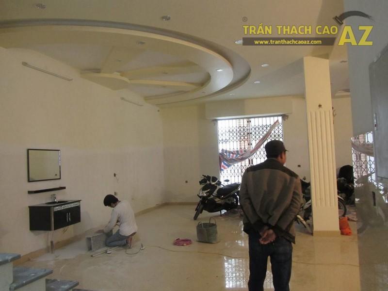 Thi công trần thạch cao cho quán Karaoke Tình Bạn, Trần Thái Tông, Cầu Giấy