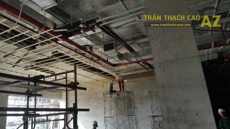 Thi công trần thạch cao Khách sạn Đại Hoàng Gia, Đông Anh, Hà Nội