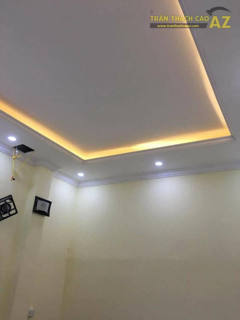 Thi công trần thạch cao tại nhà chị Thúy tại Trần Đăng Ninh, Cầu Giấy, Hà Nội