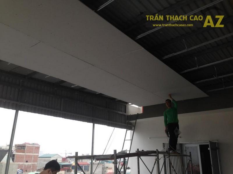 Trần, vách thạch cao cách âm cho Trung tâm Ngoại ngữ Langmaster, Hai Bà Trưng, Hà Nội