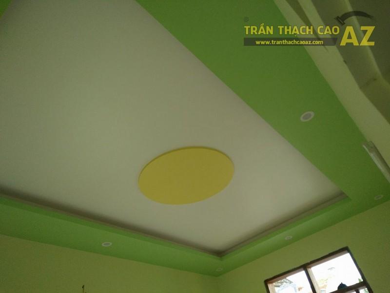 Thi công trần thạch cao tại nhà anh Liêm, Sóc Sơn, Hà Nội