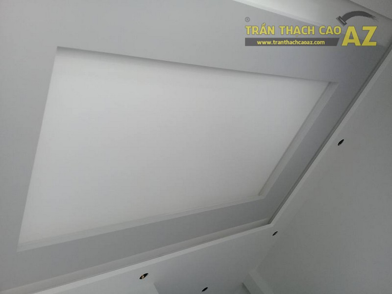 Thi công trần thạch cao cho nhà chị Thư, CT2A, Nghĩa Đô, Cầu Giấy