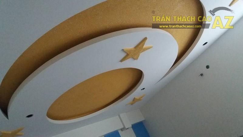 Hoàn thiện trần thạch cao cho nhà chị Thục tại Khuất Duy Tiến, Hà Nội