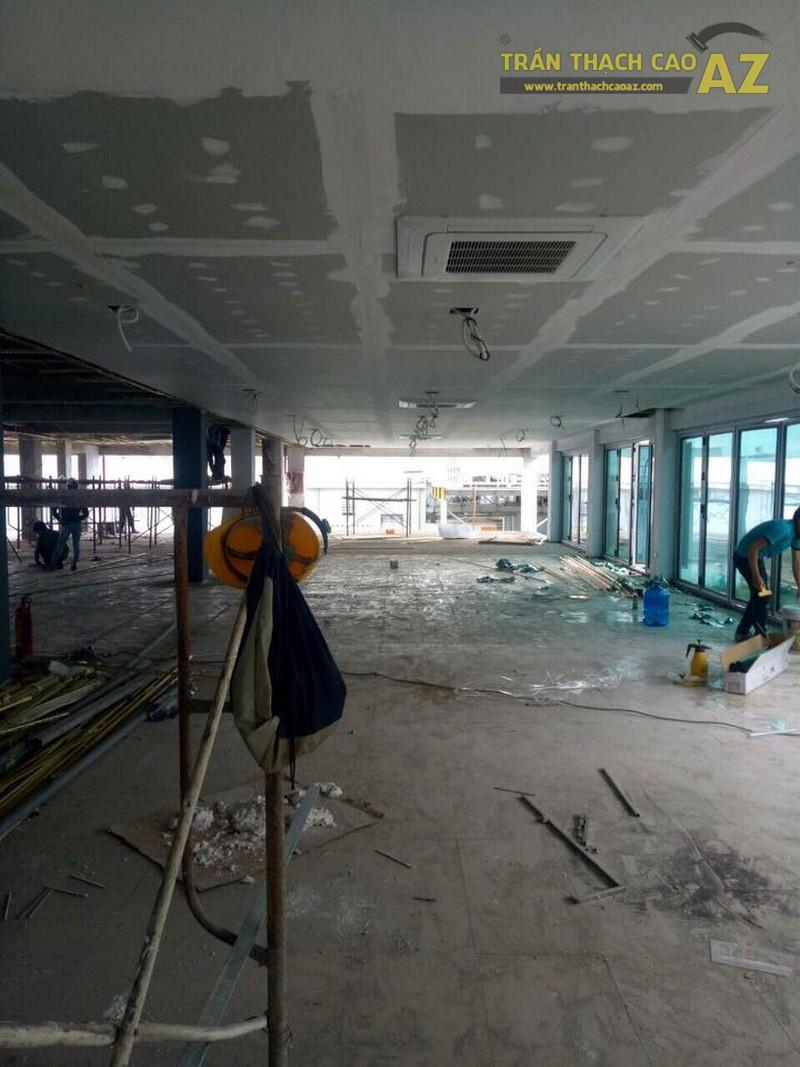 Công trình 1000m2 trần thạch cao tại nhà máy Mobase KCN Yên Phong, Bắc Ninh