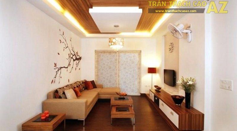 Thiết kế trần thạch cao phòng cách đẹp, hợp phong thủy