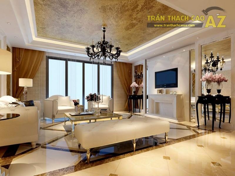 """15 mẫu trần thạch cao phòng khách sang chảnh """"oanh tạc"""" 2019 - 06"""