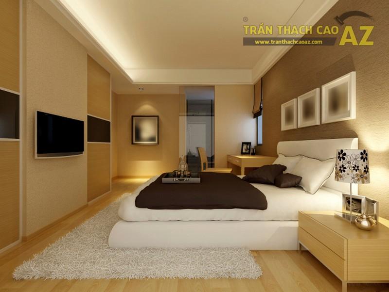 Những mẫu trần thạch cao phòng ngủ nhà ống đẹp lung linh - 02