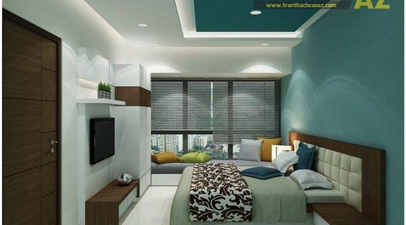 Mẫu trần thạch cao phòng khách hiện đại - 05