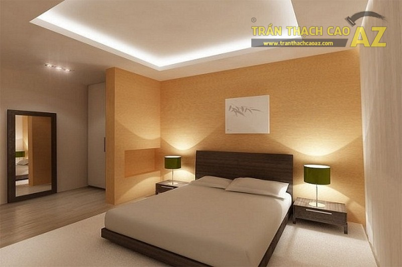 10 mẫu trần thạch cao phòng ngủ đẹp lung linh cho vợ chồng
