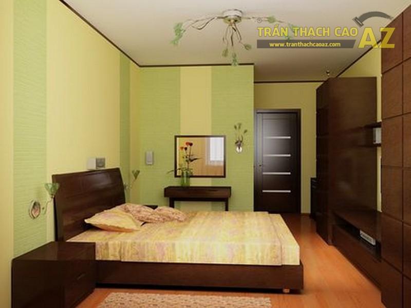 Mẫu trần thạch cao tuyệt đẹp cho phòng ngủ nhỏ