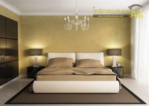 Mẫu trần thạch cao tuyệt đẹp cho phòng ngủ nhỏ - 01