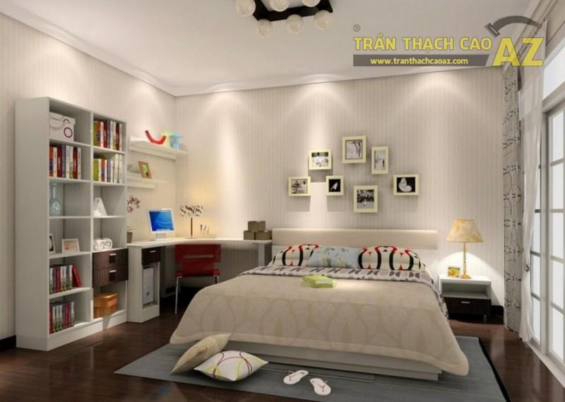 Mẫu trần thạch cao phòng ngủ vợ chồng đẹp nhất 2019 -04