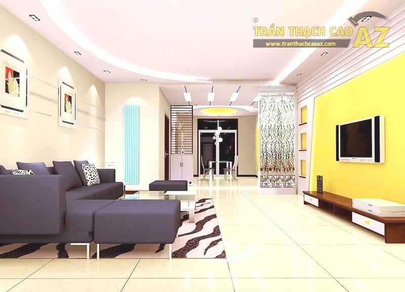 Vách thạch cao trang trí phòng khách, phòng ngủ cực đẹp và sang trọng
